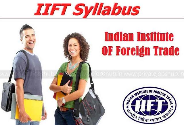 IIFT Syllabus