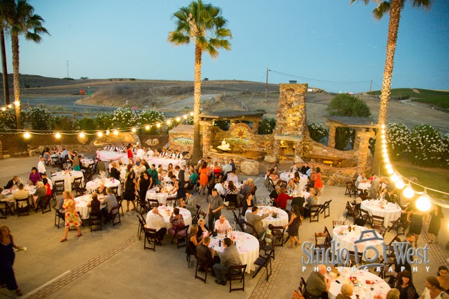 Wedding Reception in Wine Country