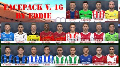 PES 2017 Facepack vol 16 by Eddie Facemaker