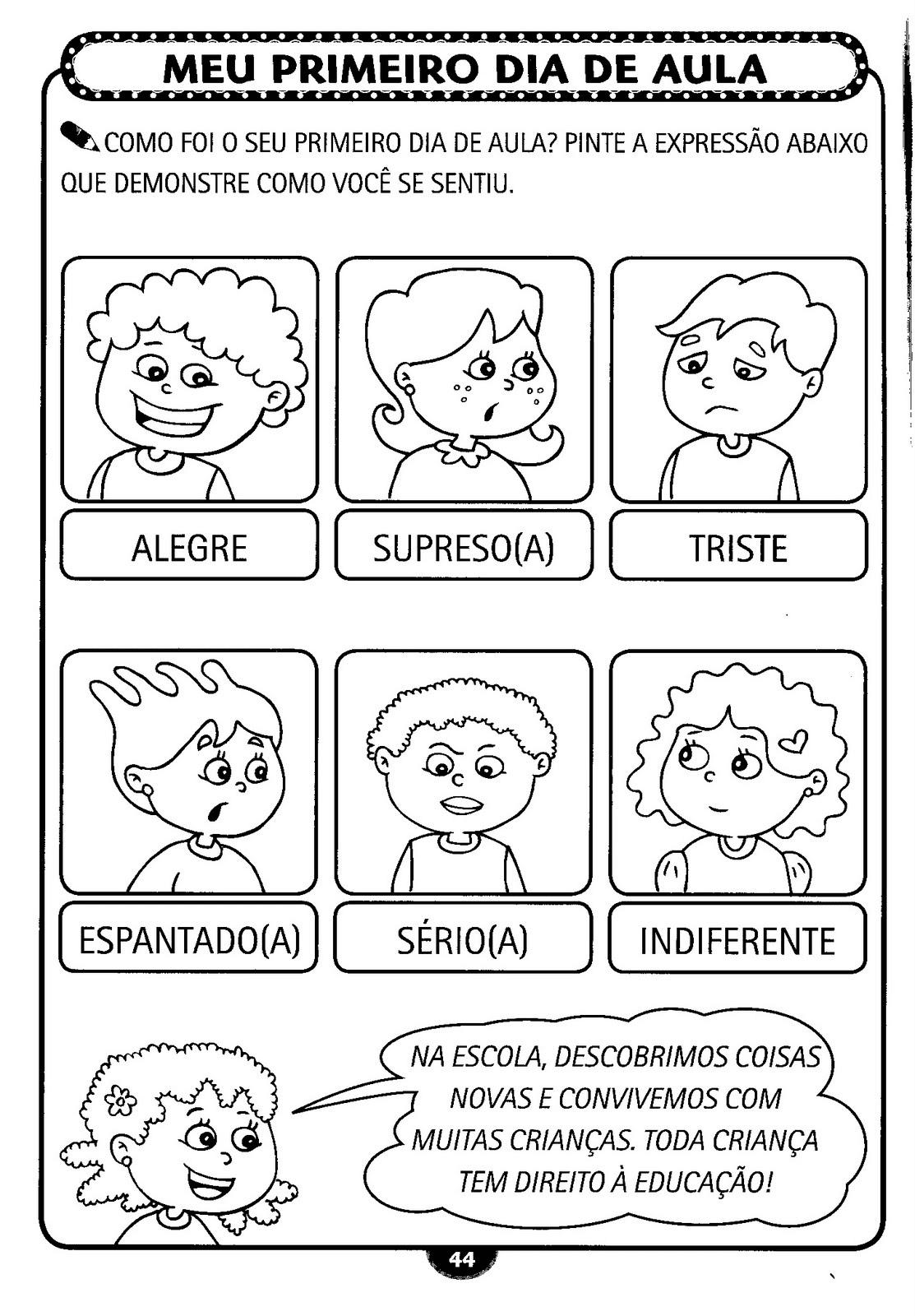 Tag Primeiro Dia De Aula Maternal Frases