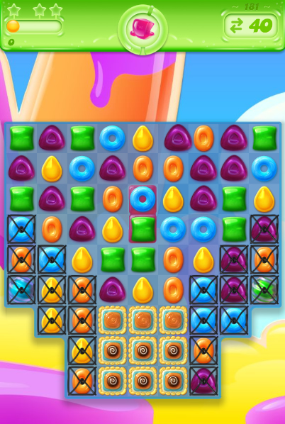 Candy Crush Jelly Saga 181