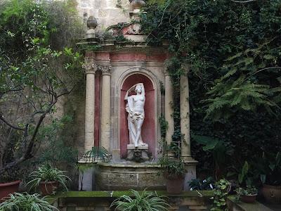 Garden of Casa Rocca Piccola, La Valletta.