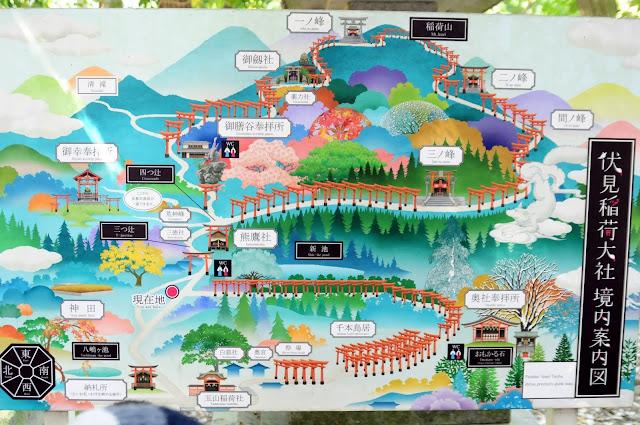 Kyoto travel with kids: Fushimi Inari