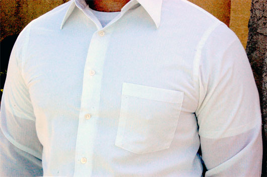 Lpt To Avoid Having Your Undershirt Visible Through A