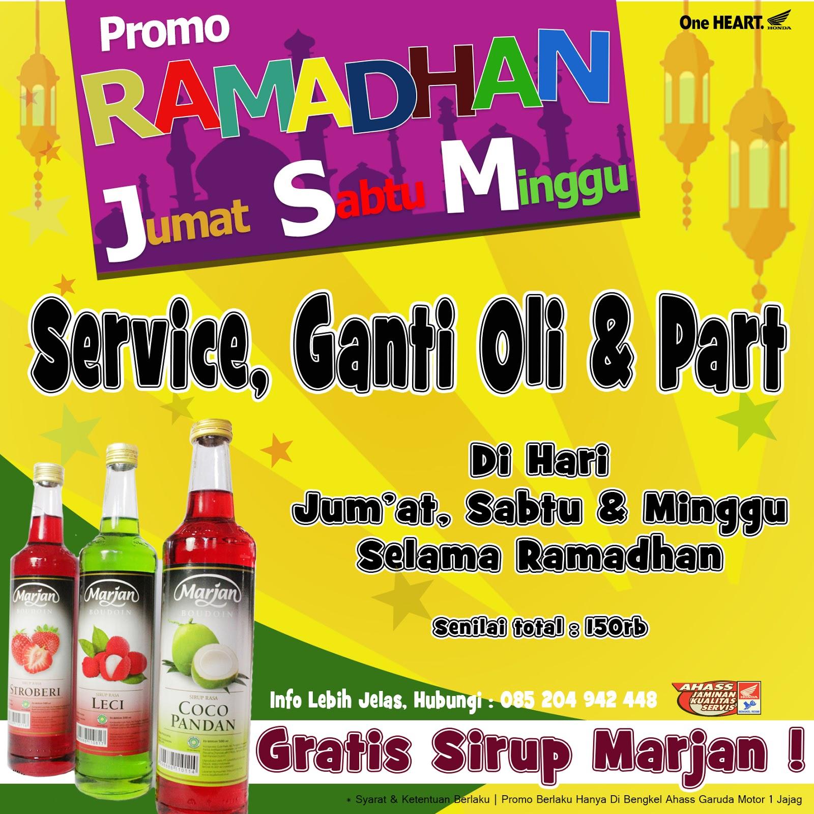 Ramadhan Service Gratis Sirup Marjan