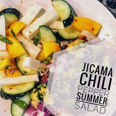 Jicama Chili Pepper Summer Salad