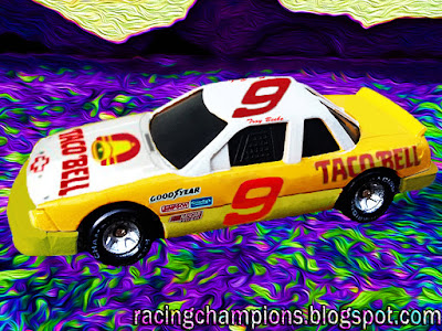 Troy Beebe #9 Taco Bell Chevrolet BGN 1991 Racing Champions 1/64 NASCAR diecast blog Busch Beefer