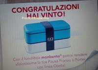 Logo Vinci anche tu uno dei 1.000 LunchBox con Linea Osella