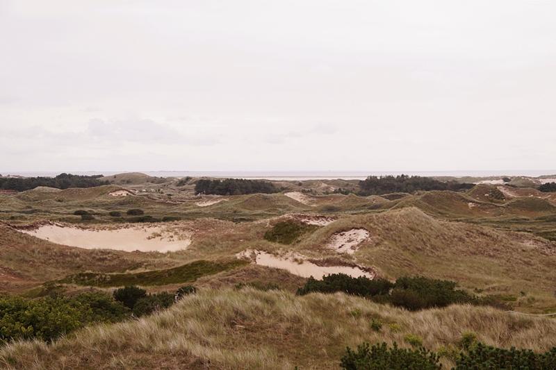 Amrum Dünen Nordsee Ausblick Leuchtturm