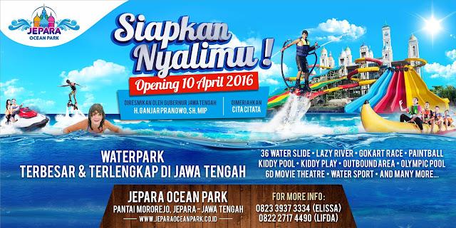 Opening Jepara Ocean Park