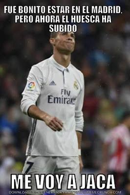 Cristiano Ronaldo , me voy a Jaca, Huesca