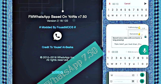 Fouad WhatsApp v7.51 Latest Update Fixed Mods Edition Version Create By Fouad Mokdad Download Now