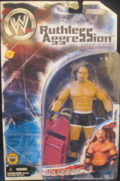 Toyseum Goldberg - Wwe Ruthless Aggression Series 6
