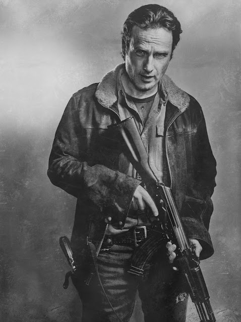 Andrew Lincoln como Rick Grimes – The Walking Dead _ sexta temporada, Silver Portraits – Photo Credit: Frank Ockenfels 3/AMC