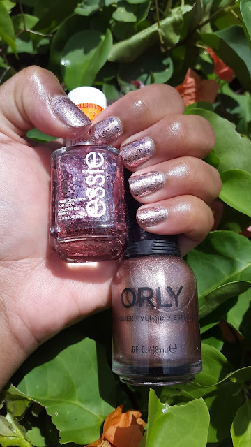 Orly 'Rage' + Essie 'A Cut Above' www.modenmakeup.com