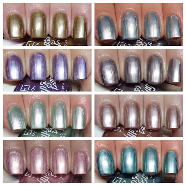 1980 S Frosted Earance And I Know Many Nuggles Nuggle Non Nail Polish Addicted Person That Would Just Love The Pale Pink One In This Collection