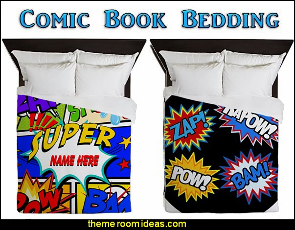 comic book bedding superhero bedding pow bam zap bedding comic book pillows