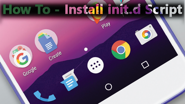 HOW TO MANUALLY INSTALL INIT D SCRIPT | Malaysian Android
