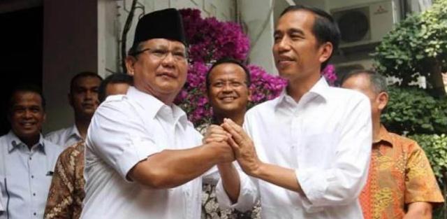 Elektabilitas Prabowo Melejit, Rakyat Tak Puas Kinerja Jokowi