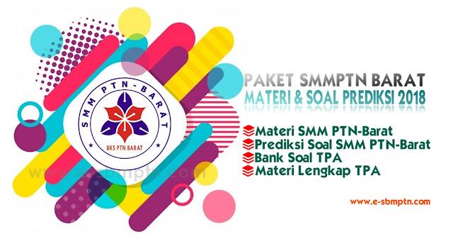 Materi Ujian Soal SMM PTN Barat 2018/2019