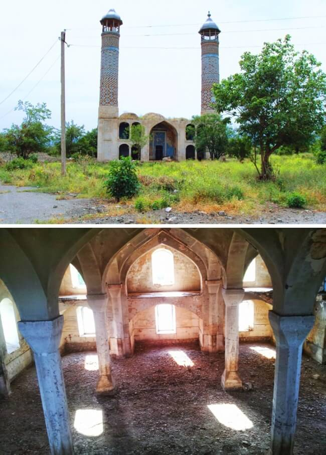 12 Once Booming Places Around The World That Are Now Abandoned And Empty - Agdam, Nagorno-Karabakh Republic Azerbaijan