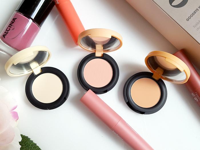ALCINA - Spring Stories Makeup Collection 2017 - Matt Eyeshadow - vanilla, peach, lychee -
