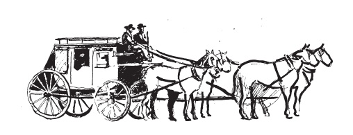 West Drawings Old Stagecoach Pencil