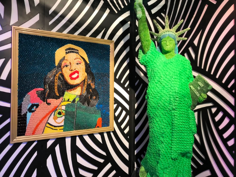 Candytopia wall art
