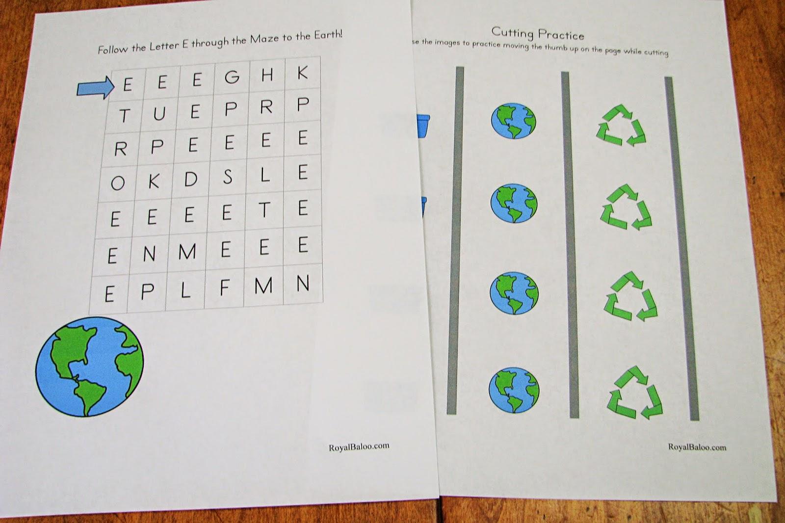 Mommy S Little Helper Creation Earth Day Preschool Theme
