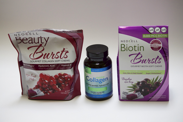 Collagen, Collagen Capsules, NeoCell Collagen Capsules, Collagen Review, NeoCell Acai Berry Biotin Bursts, Biotin Bursts, NeoCell Biotin Bursts Review, NeoCell Beauty Bursts Review