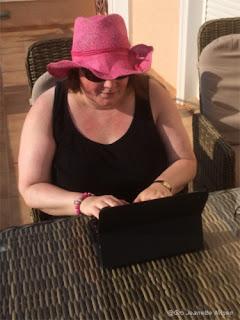 Gro Jeanette Nilsen, forfatter på Spania-ferie!