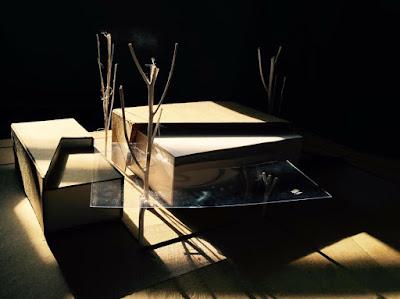 đồ án cơ sở kiến trúc 4 mô hình layout vẽ tay