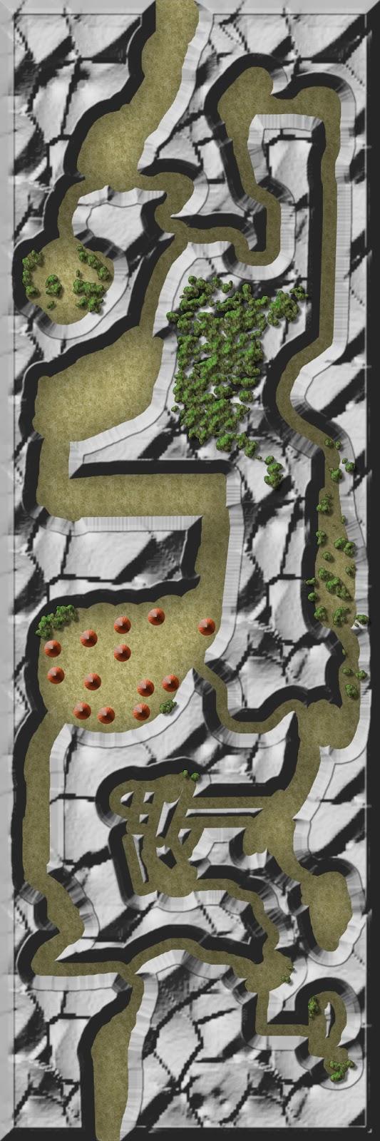 Mapas rol Historia de la Garra 2: Partida de caza