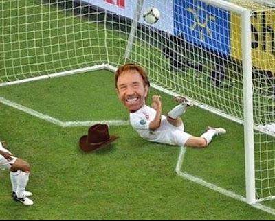 Lustiges Fußball Tor - Abseitsregel Spaßbilder