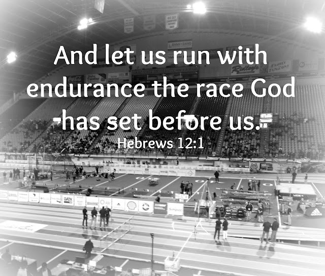 Inspiring devotional on running your own race