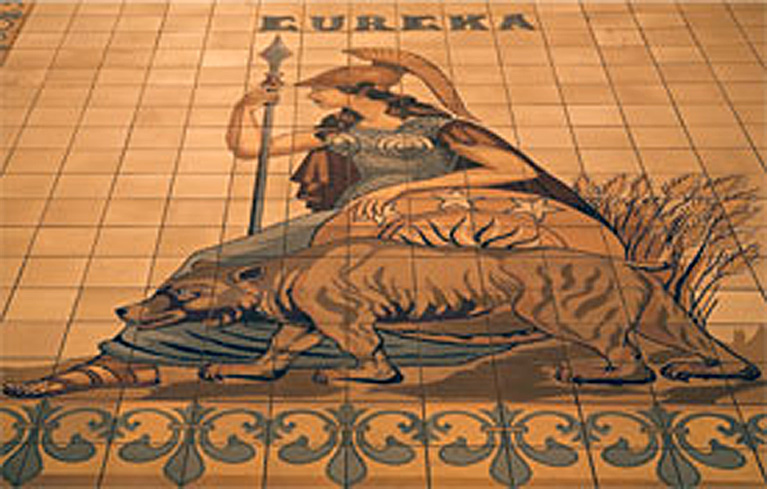 ARCHITECTURAL TILES, GLASS AND ORNAMENTATION IN NEW YORK: HERMAN ...