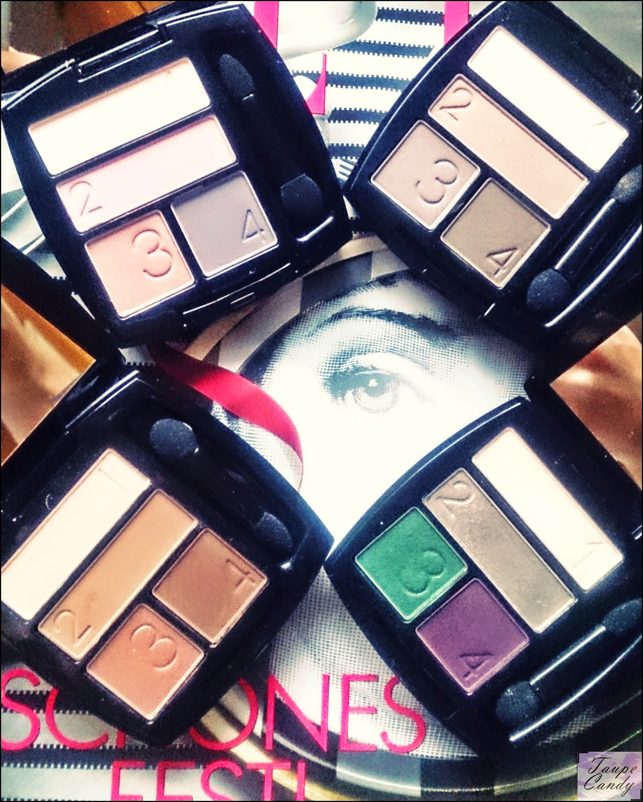 Avon True colour palete senki