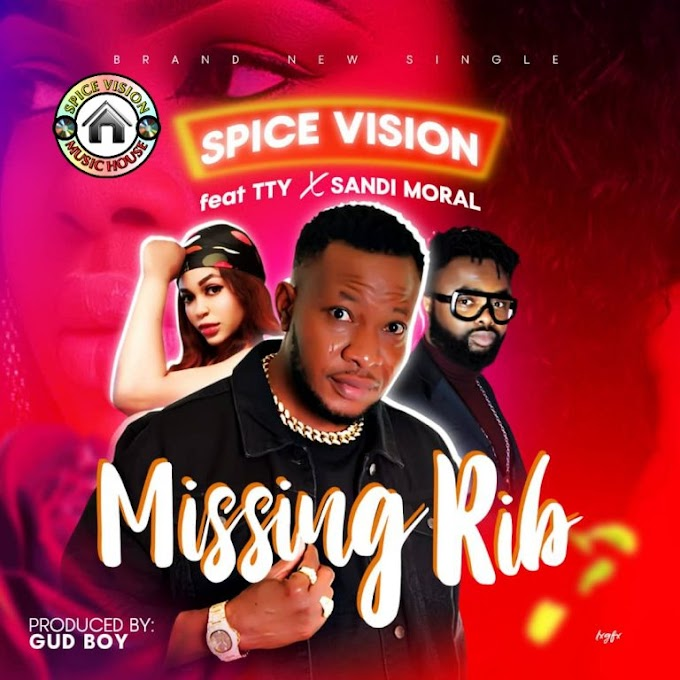 DOWNLOAD MP3 & LYRICS: Spice Vision – Missing Rib ft. TTY & Sandi Moral