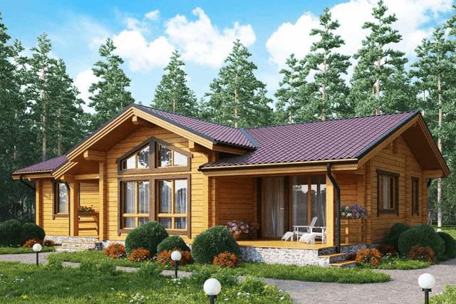 Desain Rumah Kayu Minimalis Modern Dindin Design