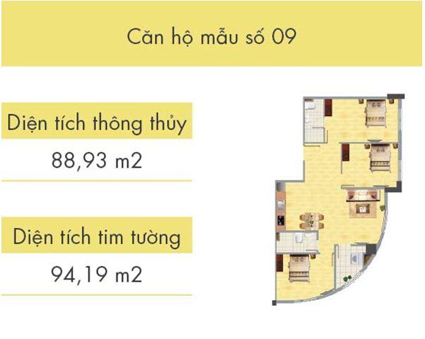 Căn hộ số 09 tòa CT1B
