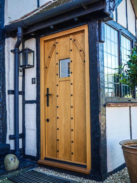 Chatsworth Door Outside