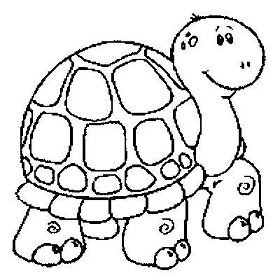 Dibujos De Tortugas Para Imprimir Ycolorear Dibujo De