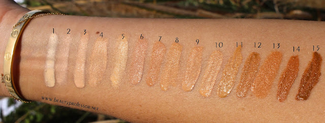 surratt surreal skin foundation swatches