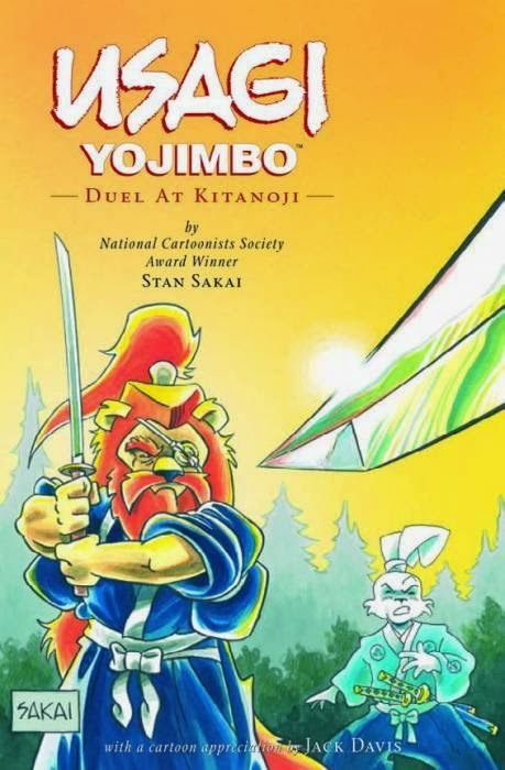Book cover of Usagi Yojimbo: Duel at Kitaoji by Stan Sakai