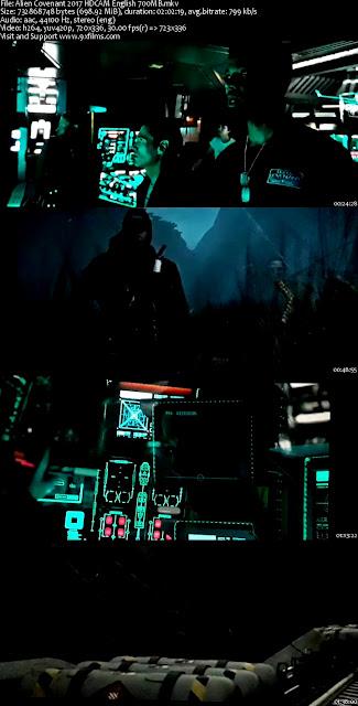 Alien Covenant 2017 HDCAM English