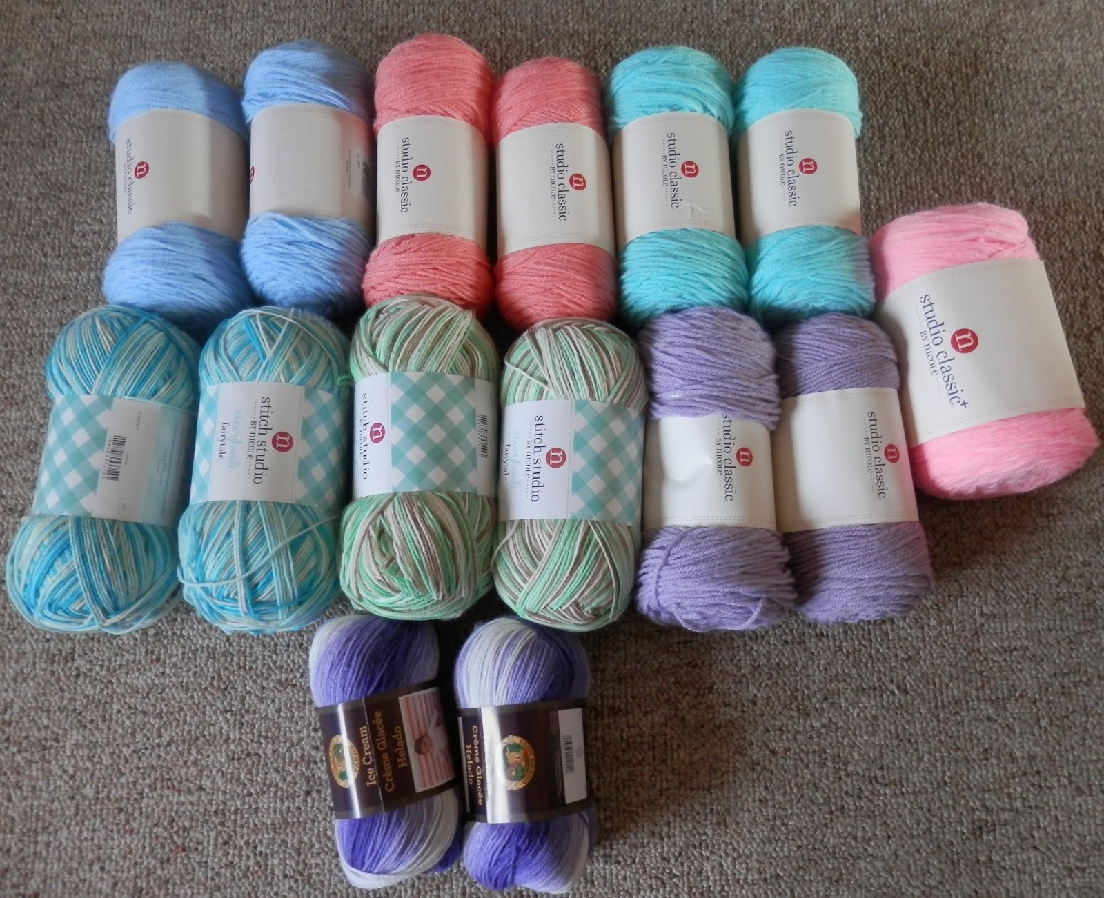 Karens Crocheted Garden of Colors: April 2019