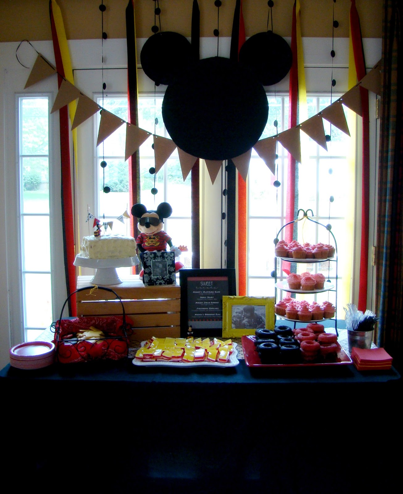 Cupcake Dreams And Paper Memories: Mickey Mouse Party Part