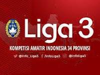 Pembagian Grup Zona Nasional Liga 3 2018