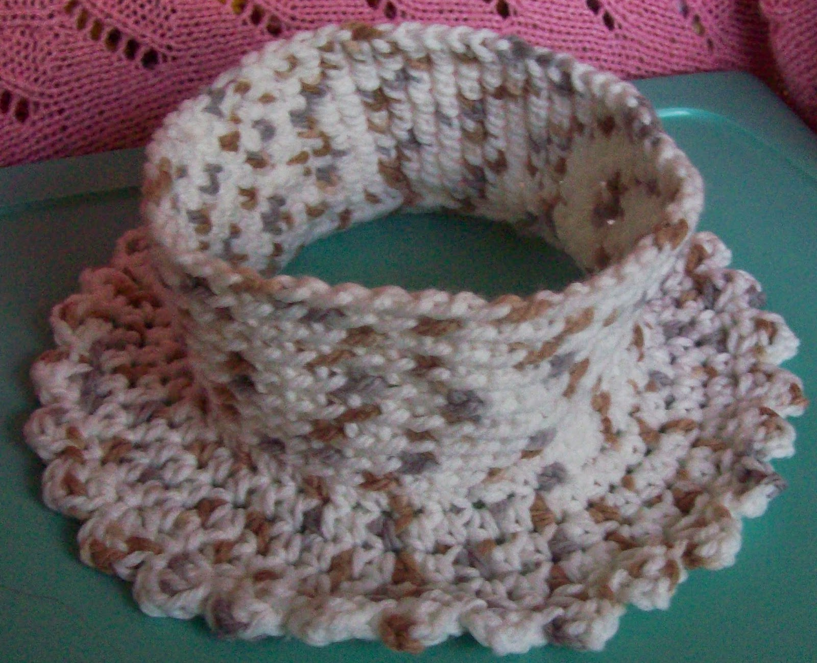 Polo Style Neck Warmer Free Crochet Pattern