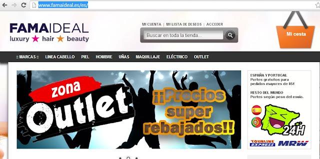 Mis compras on-line: Famaideal - Cosmética que Sí Funciona